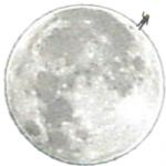 Алина на Луне
