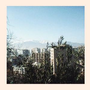 Фото из Чили: вид на Сантьяго