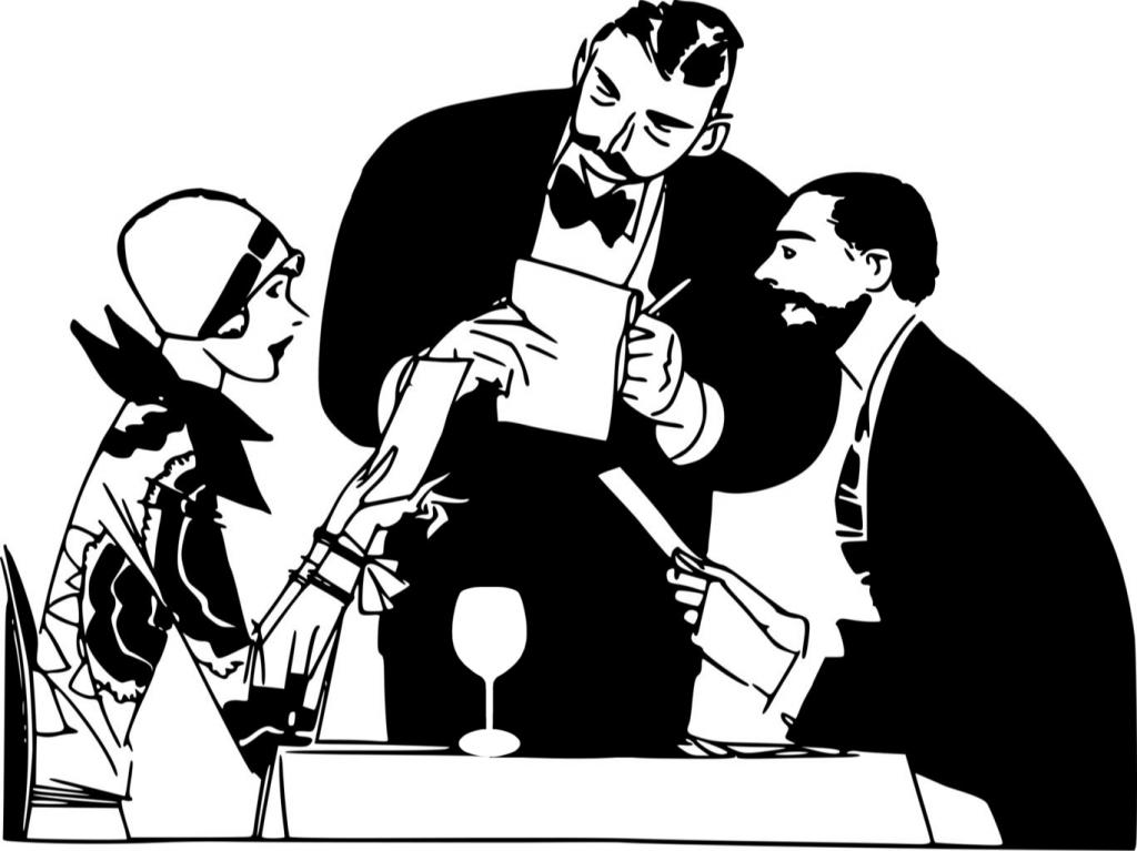 Диалог в кафе двух главредов